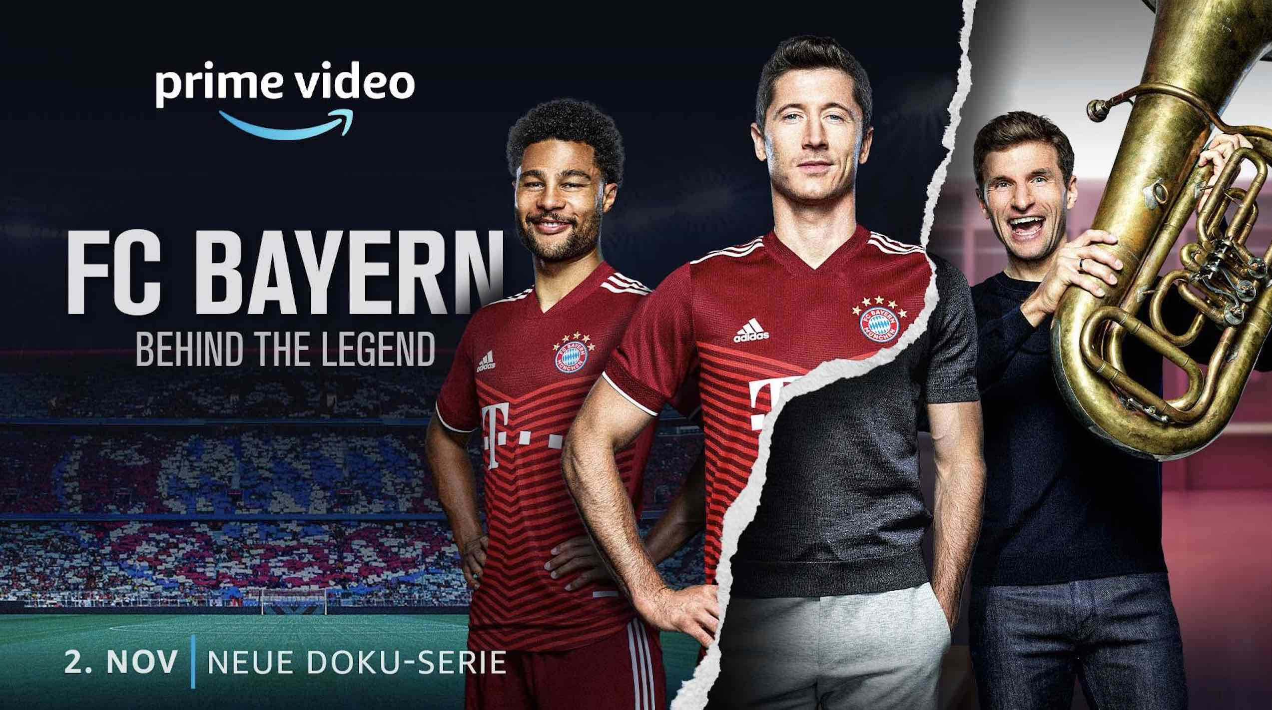 FC Bayern - Behind the Legend; © Amazon Prime Video